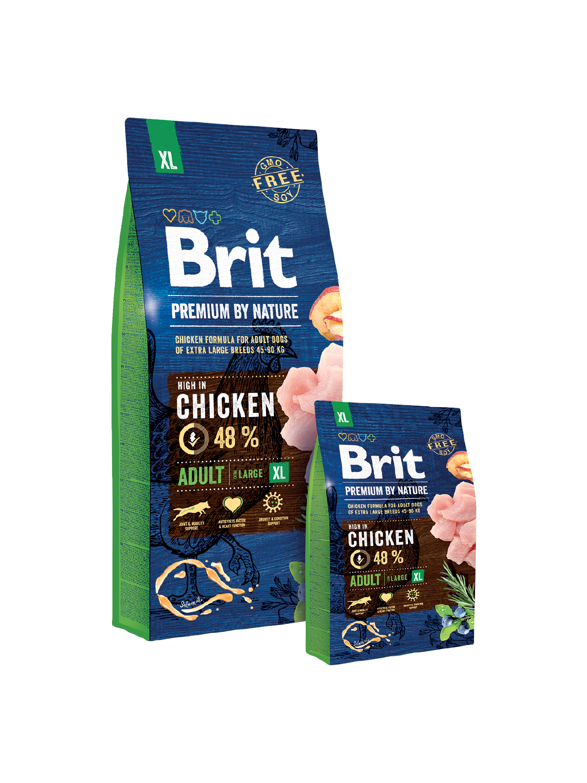 Brit Premium by Nature ADULT XL - od 3kg