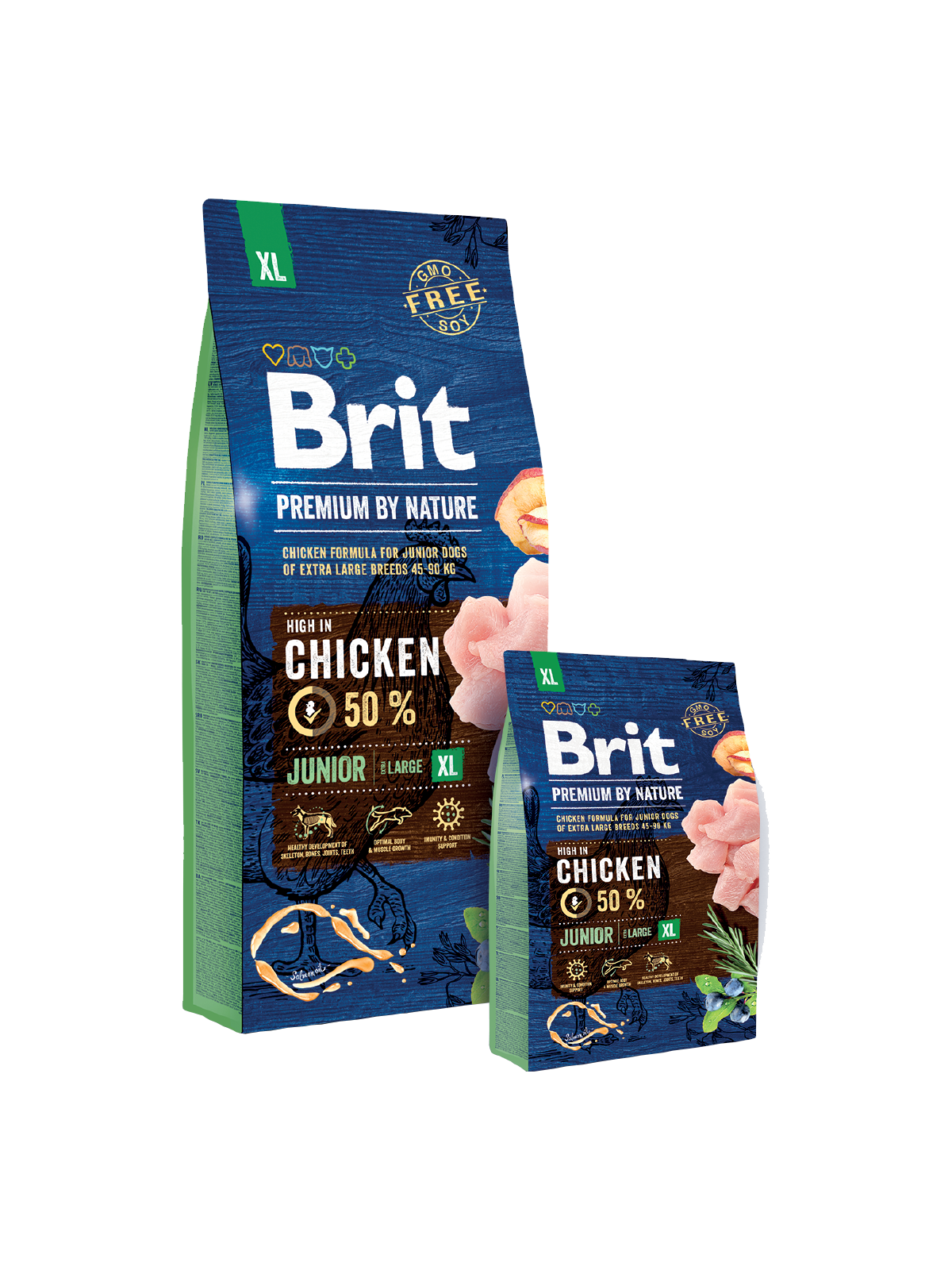 Brit Premium by Nature Junior XL - od 3kg