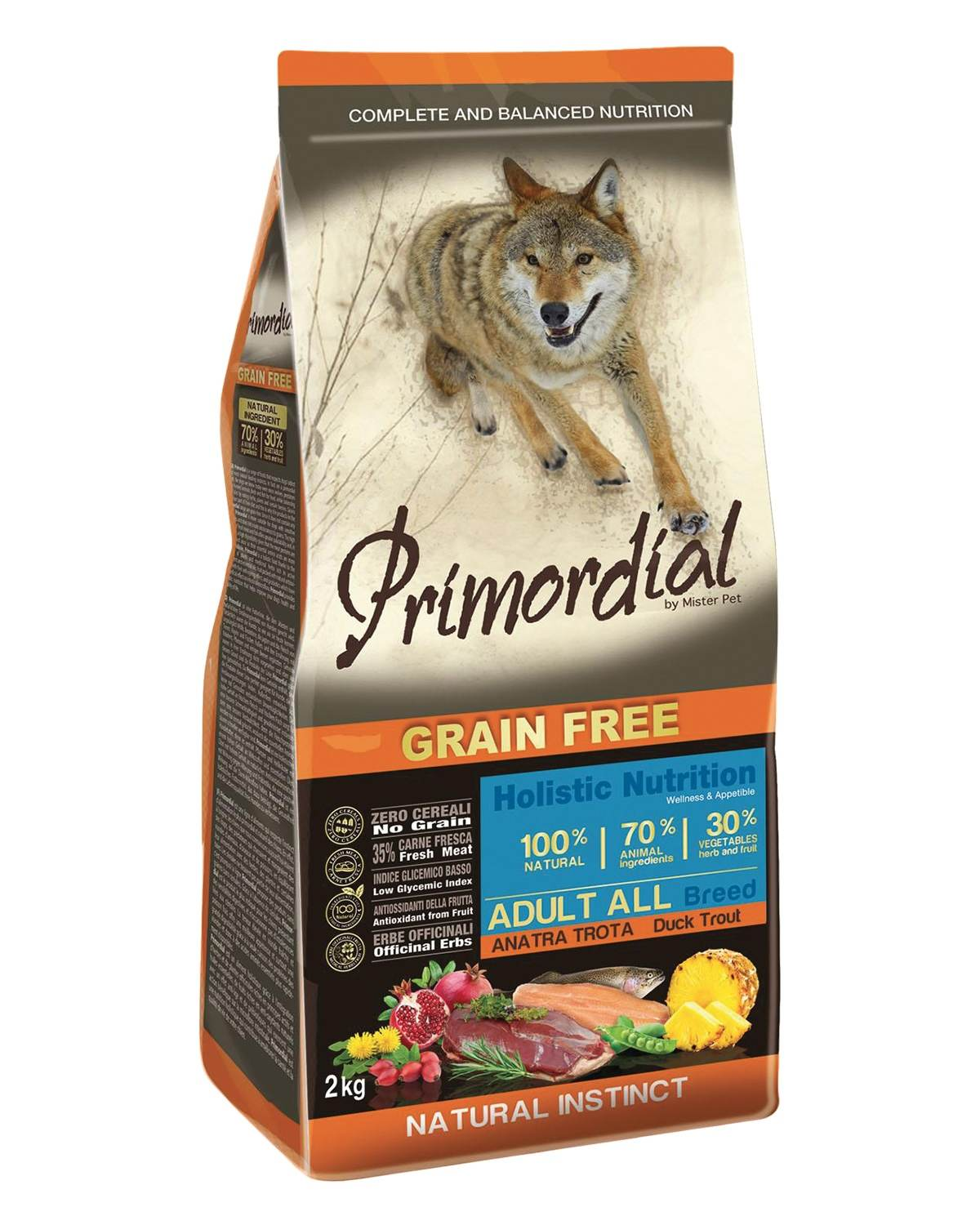PRIMORDIAL Adult Trout & Duck - od 2kg
