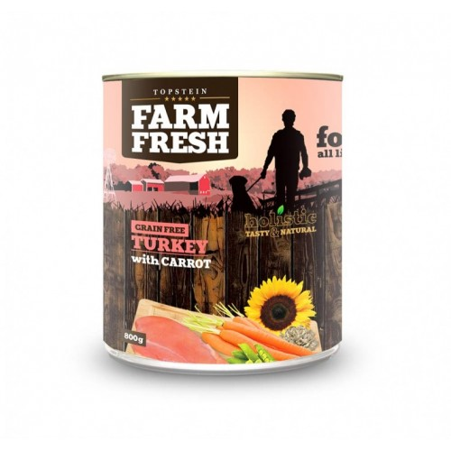 Farm Fresh – Turkey with Carrot