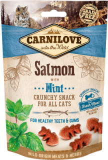 Carnilove Crunchy Salmon with Mint 50g