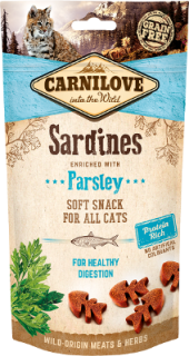 Carnilove Semi-Moist Sardine enriched with Parsley 50g