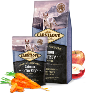 Carnilove - Salmon & Turkey for puppies