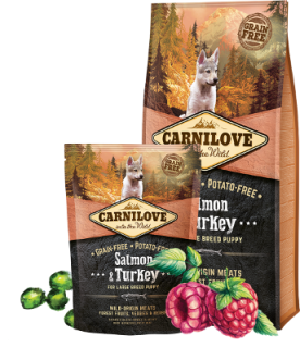 Carnilove - Salmon & Turkey for large breed puppy